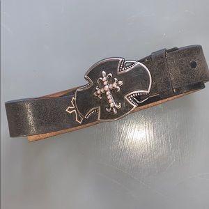 Justin Western belt
